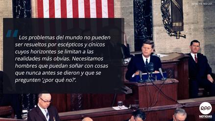 Seis Recordadas Frases De John F Kennedy A 100 Años De Su