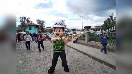 Policía de Cajamarca extrema medidas de seguridad para UTC - Melgar