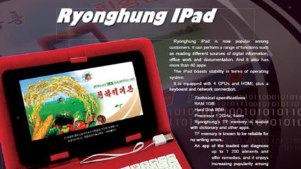 Corea del Norte fabricó su propia Tablet y la llamó iPad