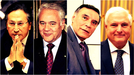 Cuatro expresidentes de la región viven el