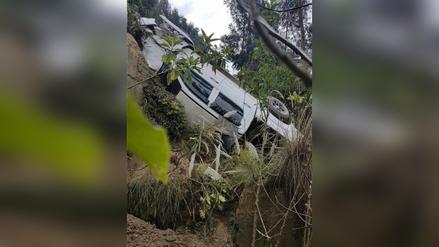 Congresista por Huánuco sufrió accidente de tránsito