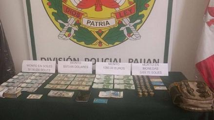 Paiján: hallan cerca de 20 mil soles en moneda extranjera y nacional