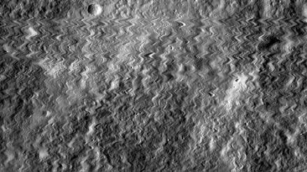 Una sonda lunar de la NASA 'sobrevivió' al impacto de un meteorito