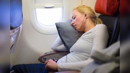 Ejercicios para hacer durante un viaje largo en avión