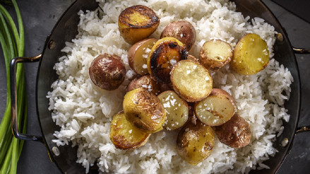 Papa más arroz es una combinación no apta para diabéticos
