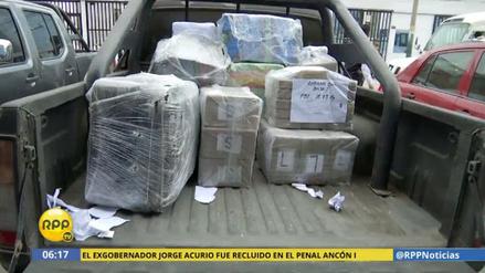 Cayó una banda de narcotraficantes con 322 kilos de droga