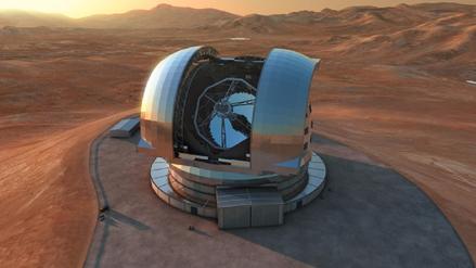 El primer supertelescopio del mundo comenzó a construirse en Chile