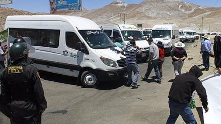 Transportistas levantan paro y dan tregua de 15 días a Provías Nacional