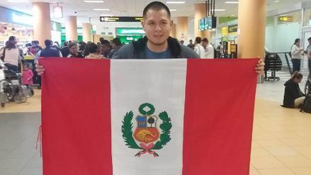 Luis Salazar partió al Reino Unido para participar en el Mundial de PES