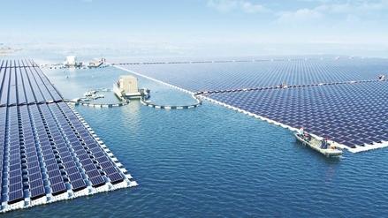 China instala la planta flotante de energía solar más grande del mundo