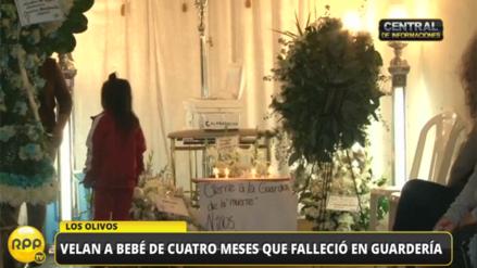 Un bebé de cuatro meses falleció en guardería en Los Olivos