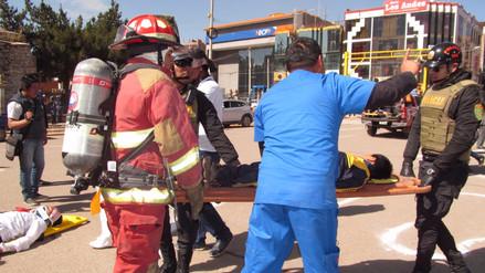 Más de 800 fallecidos reportados en simulacro de sismo en Puno
