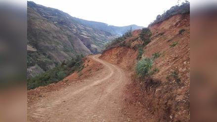 Culminó ejecución de camino que une zonas altoandinas de Lambayeque