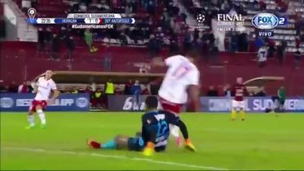 Arquero de Deportivo Anzoátegui cometió imperdonable 'blooper' ante Huracán