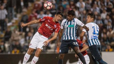 Alianza Lima eliminado de la Sudamericana tras perder con Independiente