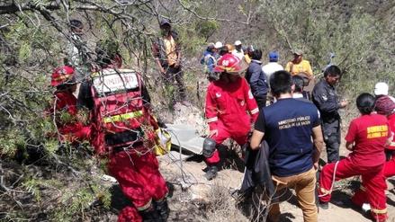 Accidente de tránsito dejó cinco muertos y cuatro heridos en Moquegua