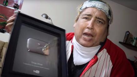 Reconocen a Tongo con premio de YouTube