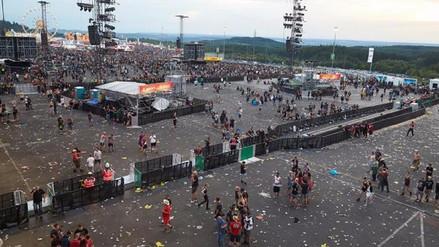Interrumpido un festival de música en Alemania por