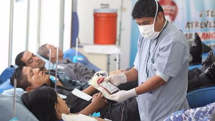Fomentan donación voluntaria de sangre en Lambayeque