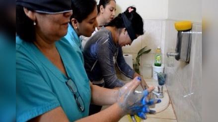 Chiclayo: promueven lavado de manos en hospital Las Mercedes
