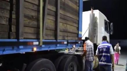 Realizan operativo inopinado a transportistas de carbón y madera