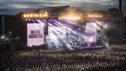 Así se vivió el concierto benéfico de Ariana Grande en Manchester