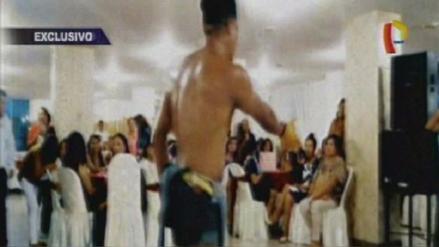 Trabajadoras de un hospital festejaron el Día de la Madre con strippers