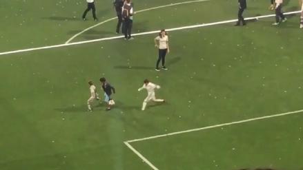 Hijo de Cristiano Ronaldo anotó su primer golazo en el Santiago Bernabéu