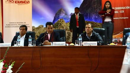 Chinchero: Ejecutivo no contempla participación del gobierno del Cusco