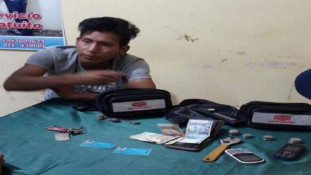 Chiclayo: capturan a joven que participó en asalto de grifo