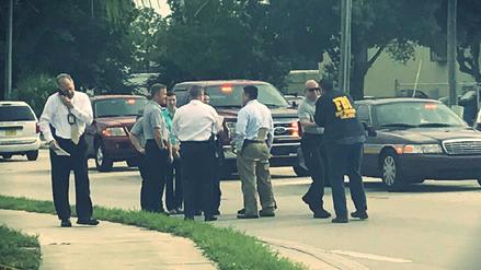 Un exempleado mató a cinco personas en un centro de negocios de Orlando