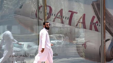 Qatar queda aislado tras cancelaciones de vuelos