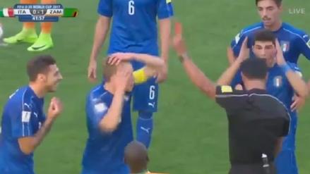 El videoarbitraje tuvo un fatal error en el Mundial Sub 20 de Corea