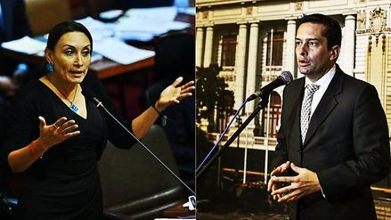 La polémica entre Patricia Donayre y Miguel Torres por la reforma electoral