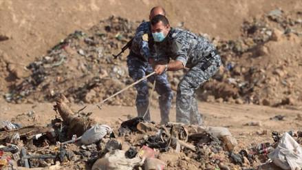 Hallan 17 cadáveres en pozos de una zona en Irak que estuvo dominada por ISIS