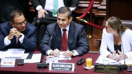 La Comisión de Defensa halló irregularidades en la gestión de Humala