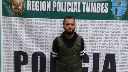 Detienen a venezolano con captura internacional en Tumbes