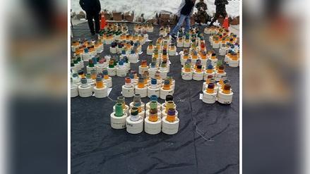 Casi media tonelada de droga fue hallada en contenedor de Paita
