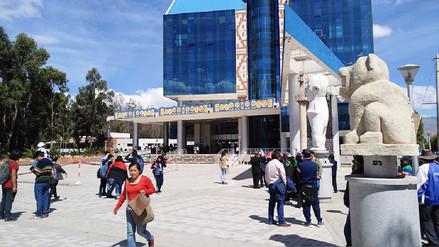 Huancayo: docentes de la Universidad Nacional del Centro acatan paro de 48 horas