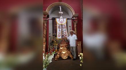 Santísima Cruz de Motupe retornará a parroquia de Zapotal