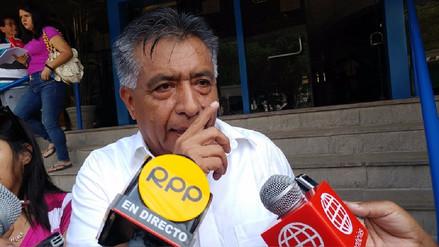 Alcalde de Chiclayo critica el pedido de suspensión en su contra