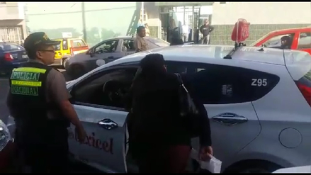 Policía atendió un parto dentro de un taxi