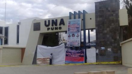 Docentes de la Universidad del Altiplano tomaron su local por paro nacional