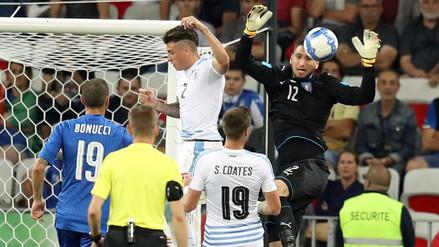 Uruguay fue goleado por Italia y no levanta cabeza en el 2017