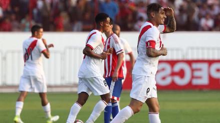 Con golazo de Paolo Guerrero, Perú derrotó 1-0 a Paraguay
