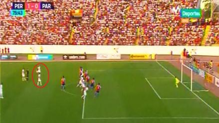 Paolo Guerrero anotó un golazo de tiro libre a Paraguay en el Mansiche