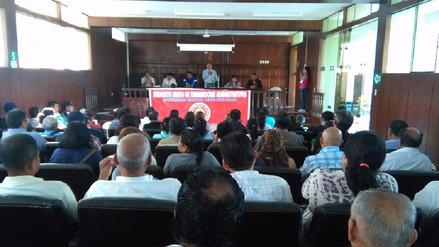 Administrativos de la Universidad Pedro Ruiz Gallo suspenden huelga indefinida