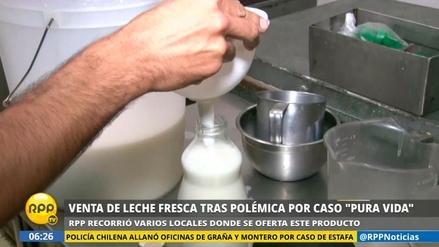 Así va la venta de leche fresca en Lima tras el caso Pura Vida