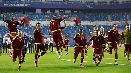 Venezuela es finalista del Mundial Sub 20 tras vencer por penales a Uruguay