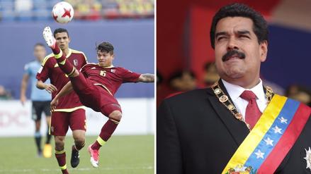 Presidente Nicolás Maduro felicitó a la Sub 20 de Venezuela por el triunfo